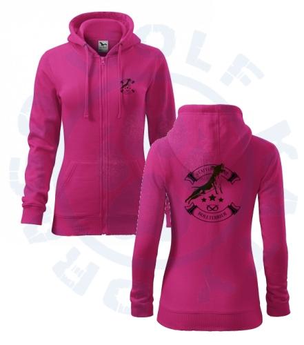 b50fd003ca41 Bull oblečení - dámská mikina Trendy Zipper na zip SBT kolečko hvězdy