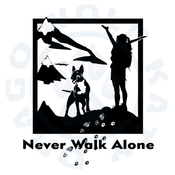 Never Walk Alone Bullterrier