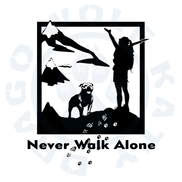 Never Walk Alone Staffbull