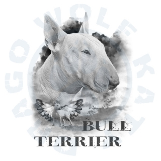 Bull Terrier Alf angel 2019