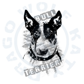 Bullterrier Wall