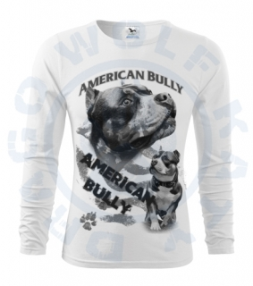 Pánské triko Fit - T Long Sleeve - American Bully Maximus